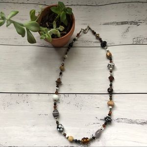 Beautifully Crafted Handmade Beaded Necklace